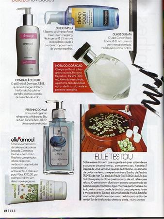 Revista Elle - Edição Dezembro/2008