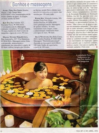 Revista Veja SP - Edição Abril/2004