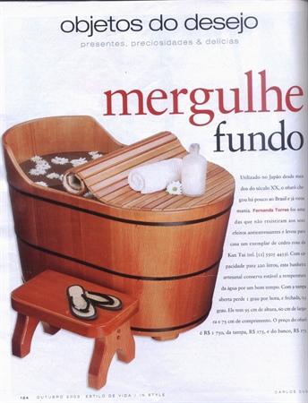 Revista Estilo - Edição Outubro/2003